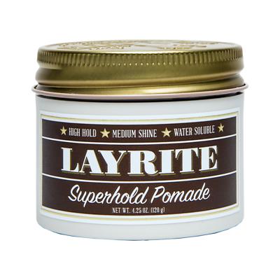 Layrite Superhold Pomade 4.25oz / 125 gr