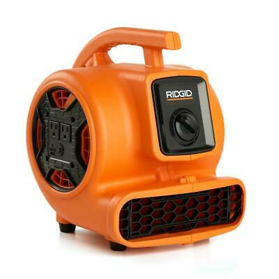 Portable 600 Cfm Blower Fan Air Mover 3-speed Adjustable Vent W Daisy Chain