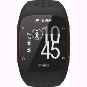 Polar M430 Wrist-Based Heart Rate GPS Running Watch Black