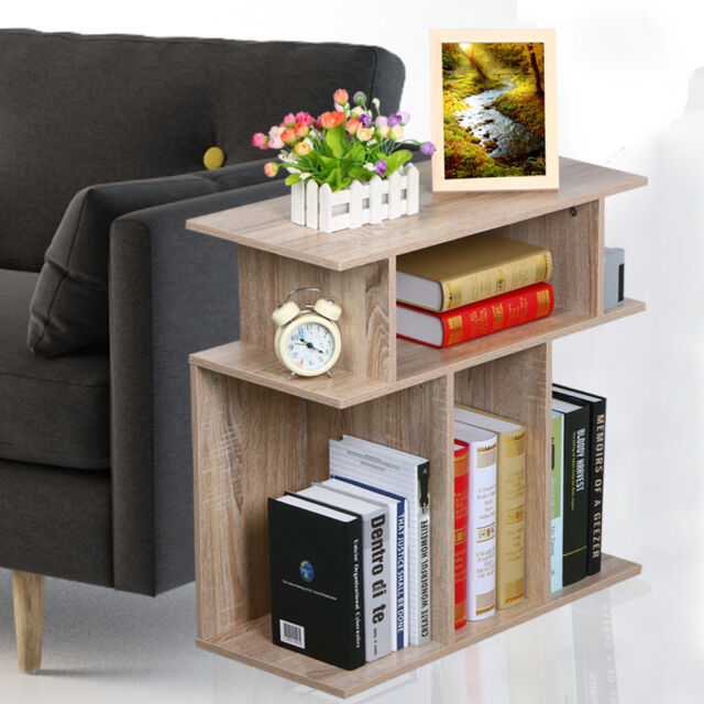 Perfect 3 Tier Accent Side End Table Sofa Console Book Storage Shelves Display Stand