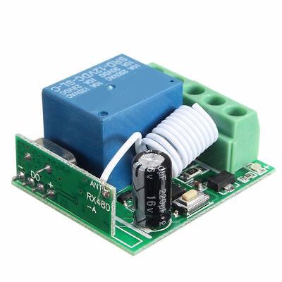 433MHz Wireless Relay RF Remote Control Switch Receiver DC12V 10A ATF