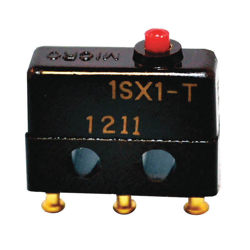 HONEYWELL 1SX1-T Sub-Mini Snap Swch,7A,SPDT,Pin Plunger