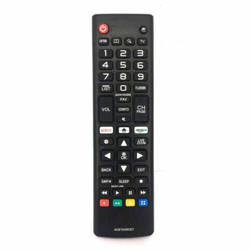 New Lg Replacement Tv Remote Akb75095307 For Lg Lcd Led Smart Tv