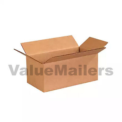 100 12x10x4 Shipping Packing Mailing Moving Boxes Corrugated Storage Carton