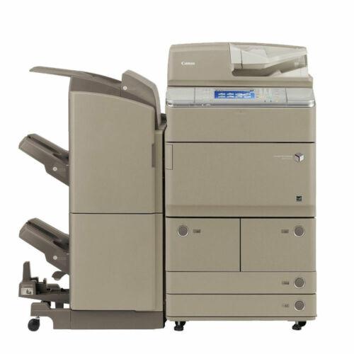 Canon Ir Advance 6255 A3 Mono Laser Copier Printer Scanner Finisher 55 Ppm 6275