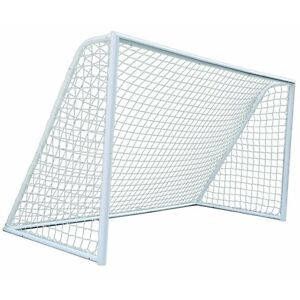 Woodworm 12ft / 3.65m Heavy Duty Metal Goal Post and Net – For Home and Clubs