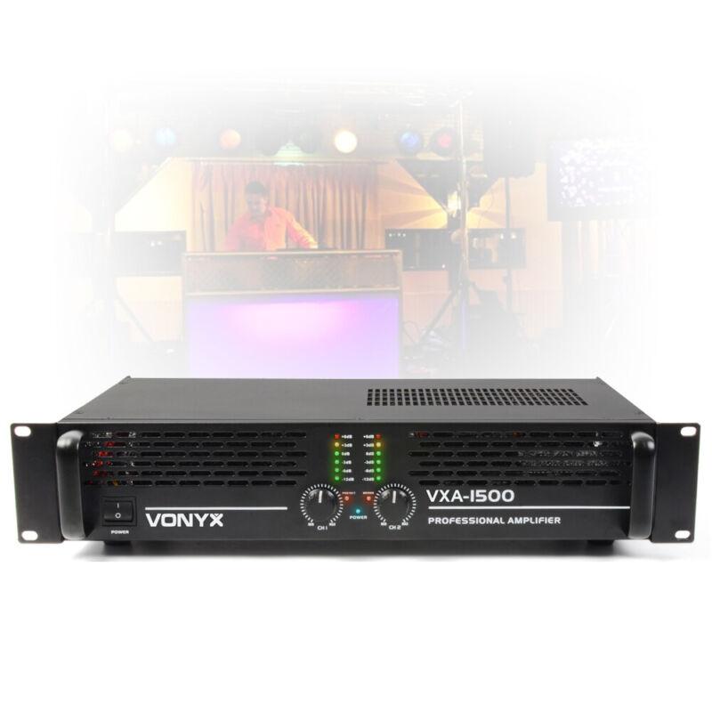 VXA-1500 MKII Two Channel Power Amplifier PA Bridge Amp 2U 19