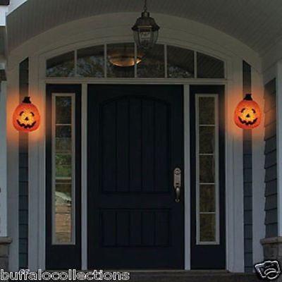 Halloween Pumpkin Porch Side Entrance Garage Door Light Cover Outdoor Decoration](Garage Door Decorations Halloween)