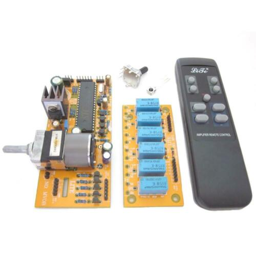 MV04 Quadruple ALPS Motorized Remote Control+Input Potentiometer 9-12V AC