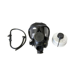 Israeli M15 Gas Mask with Standard 40mm Filter - Unused- emergency survival prep