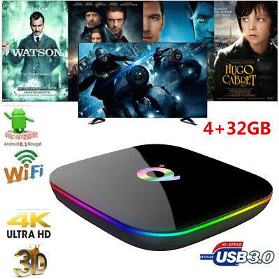 Q Plus Smart TV Box Android 9.0 H6 4 GB / 32 GB 6K H.265 USB3.0 2.4G WiFi Y1U4