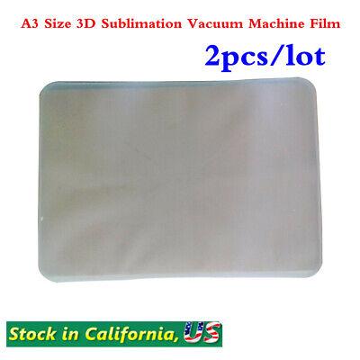 Us Stock 2pcslot A3 Size 3d Sublimation Vacuum Machine Film For St-3042