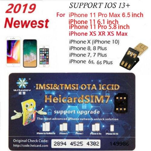 Heicard Unlock Turbo SIM Card For iPhone 11 Pro X XR XS Max