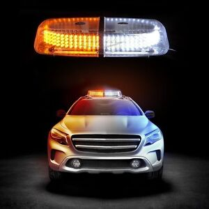 Zento Deals Car 240-LED Snow Plow Safety Roof Top Strobe Warning Emergency Light