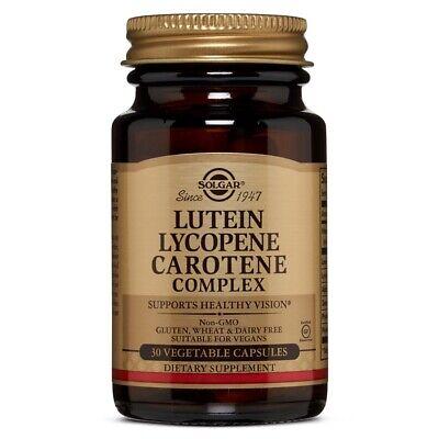 lutein lycopene carotene complex vegetable