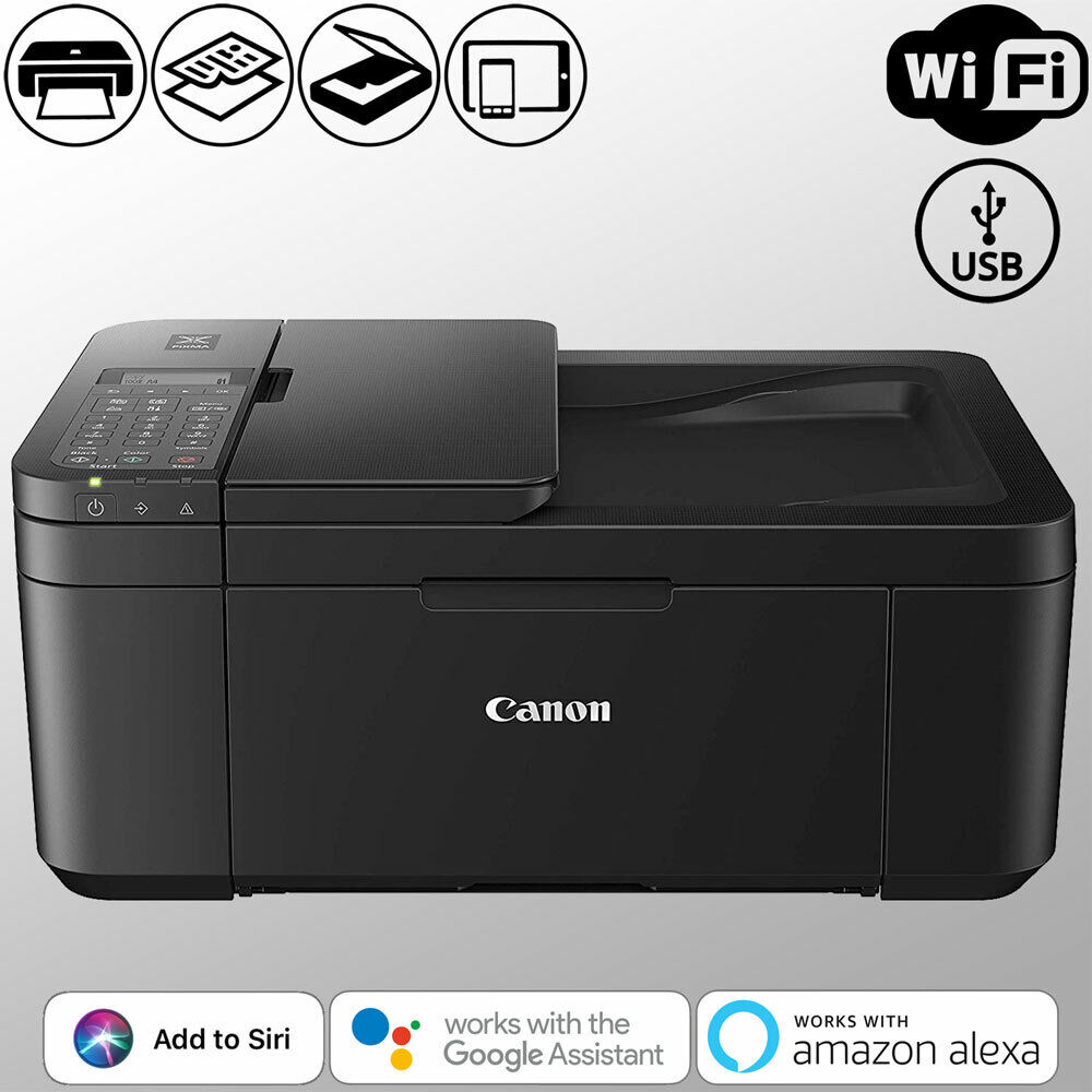Canon Wireless Fax Printer All-in-One Inkjet WiFi Scanner Mo
