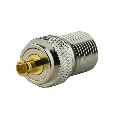 F-MCX adapter F-Type Jack female to MCX plug male RF Coaxial Adapter Connector Mcx-adapter