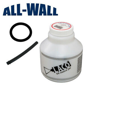Replacement 64 Oz. Jarbottle Laco Drywall Texture Pump Gun Wgasket Feed Tube
