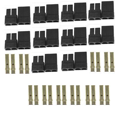 Lipo Trx Plug - 10 Pairs TRAXXAS TRX Plug Connector For RC Lipo/NiMh Battery Brushless ESC Motor