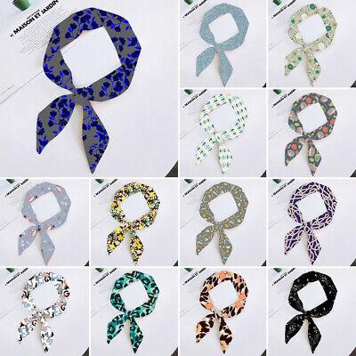 Ladies Scarf with Belt Scarves Bag Ribbons Head Scarf Skinny Headband -