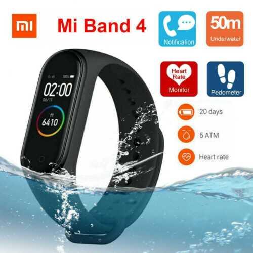 Xiaomi Mi Band 4 Smart Wristband Bracelet Watch OLED Touch Screen Waterproof 50M