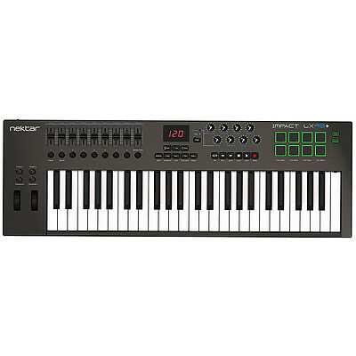 Nektar Impact Lx49  Plus 49 Key Usb Midi Controller Music Production Keyboard