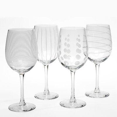 Mikasa Cheers White Wine Glasses, Set of 4