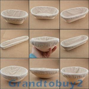 New Multiple Shape Size Banneton Brotform Bread Proofing