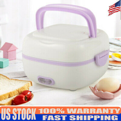 Pocket Multifunctional Electric Lunch Box Food Steamer Mini Small Rice Cooker