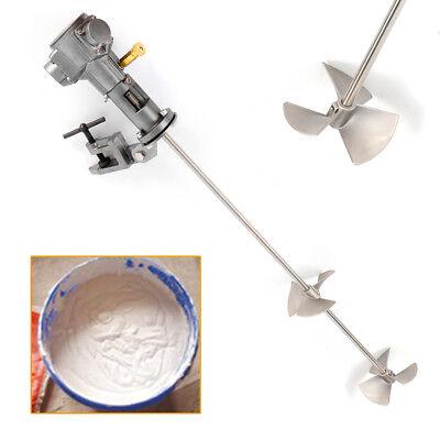 50 Gallon Pneumatic Ink Mixer Stirrer Agitator Paint Mixing Tool Blender 12 Hp
