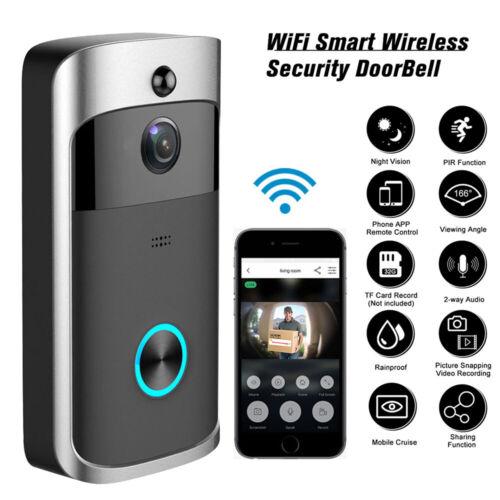 Smart Wireless WiFi Ring Doorbell Phone Door Ring Intercom S