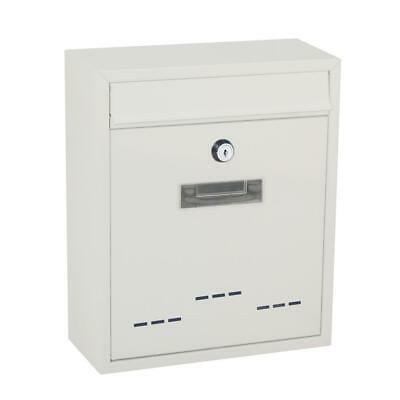 Serenelife Slmab06 Indooroutdoor Wall-mount Locking Mailbox