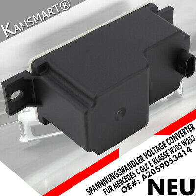 Spannung Wandler Modul A2059053414 für Mercedes C GLC E Klasse W205 W253