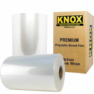 18 3500 75 Gauge Centerfold Polyolefin Pof Heat Shrink Wrap Film Free Ship