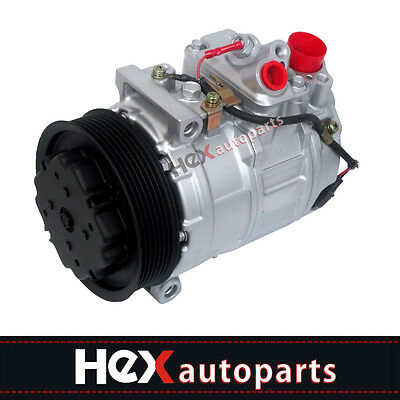 (AC A/C Compressor For Mercedes C240 CL500 E320 E350 S430 S500 97396)