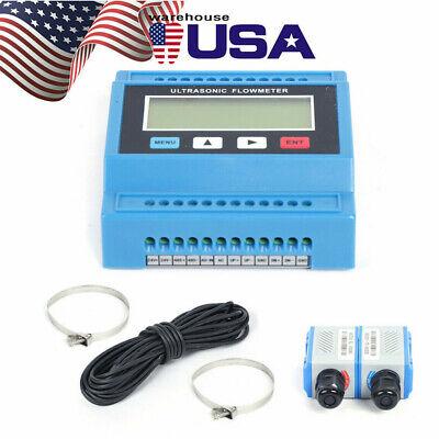 Ultrasonic Liquid Flow Meter Tuf-2000m Digital Flowmeter Dn15-100 Ts2 Sensor Usa