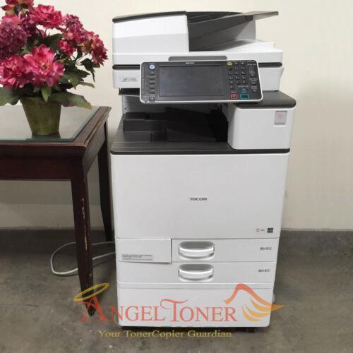 Ricoh Aficio Mp C3503 Mfp Color Laser Copier Printer Scanner