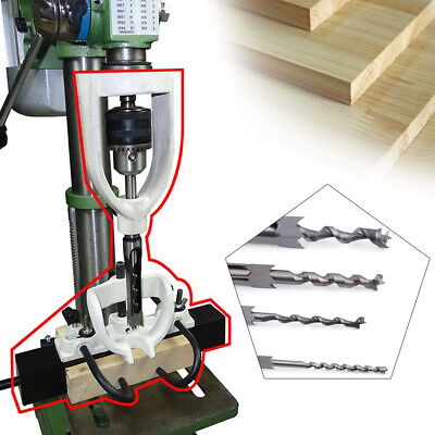 Woodworking Hole Drill Bit Mortise Locator Tenoning Machine For Bench Drilling