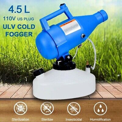 4.5l Electric Ulv Fogger Disinfection Pest Control Sprayer Machine
