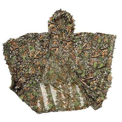 Woodland Forest Sniper Ghillie Suit Kit 3D Camouflage Camo Jungle Hunting