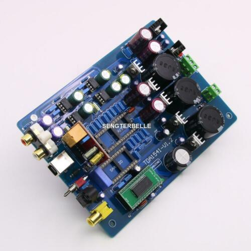 Assembled CS8412 + NE5534 TDA1541 USB DAC optical fiber coaxial decode board