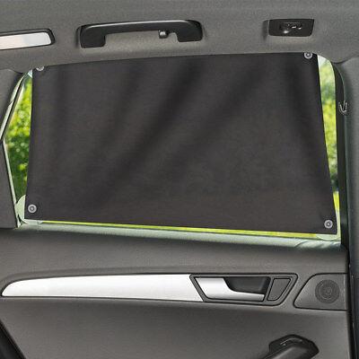 Universal Sonnenschutztuch Sonnenblende Auto Seitenscheibe Baby UV Schutz Grau