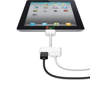 Digital AV HDTV Adapter 30 Pin Dock Connector to HDMI for Apple iPad iPhone ios8