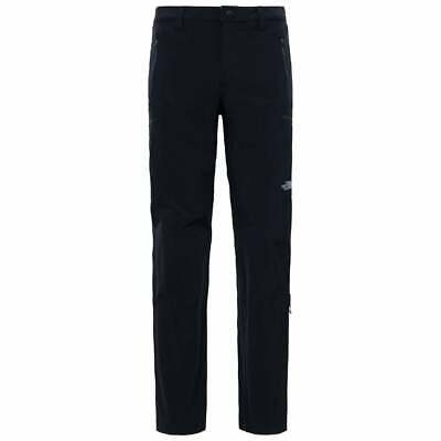 The North Face Mens Exploration Pant Trouser Stretch Black 36 38 BNWT