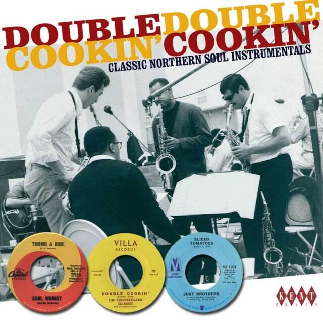 DOUBLE COOKIN' - VARIOUS ARTISTS - CDKEN 336