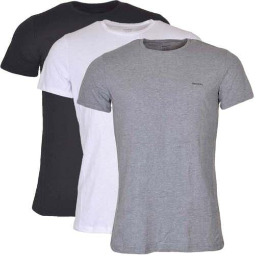 crew-neck T-shirt - Black Diesel Fake AZAiv