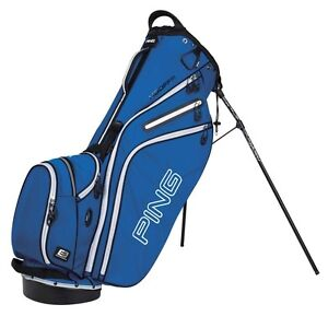 New-2013-Ping-Golf-Hoofer-Carry-Stand-Bag-Electric-Blue