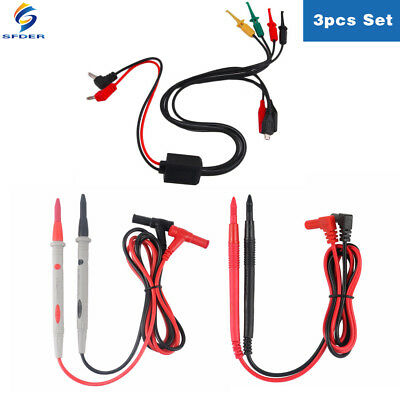 Power Supply Adapter Connector Plug Multimeter Probe Phone Current Test Cable