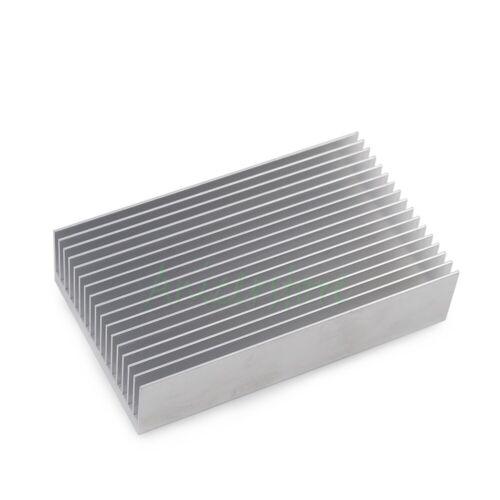 100mm x60mm x23mm Aluminium Heatsink Fin For Chipset Power LED IC Server Cooling