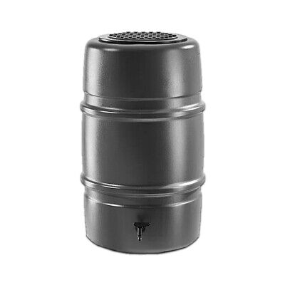 Grey Harcostar 227L Water Butt Barrel - Recycle Your Rainwater. Free UK Delivery